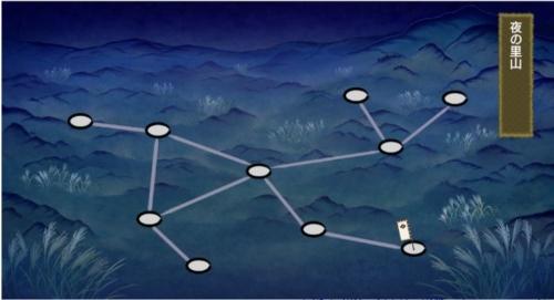 月見の里 イベントマップ