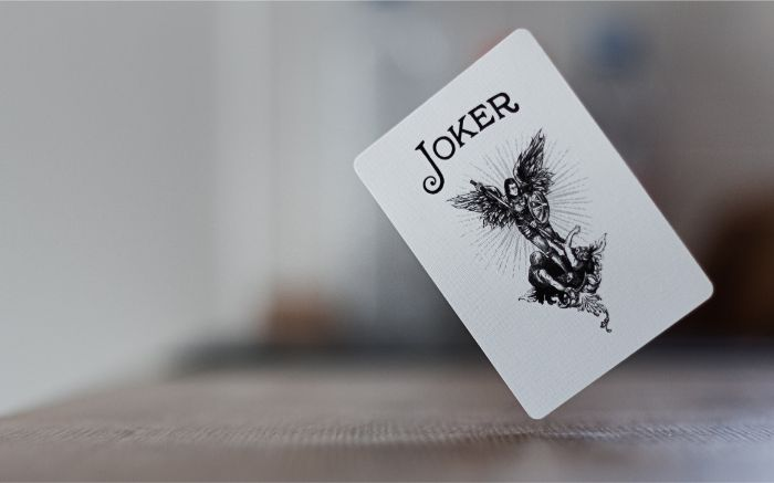 ジョーカーのトランプの画像