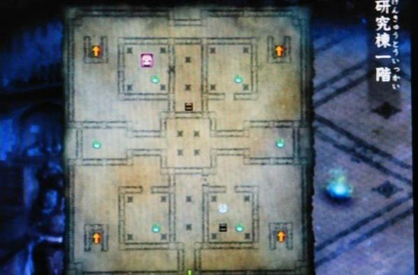 運命の迷宮 チ地図